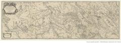 Ancien aqueduc de Pontgouin à Versailles (également sur communes de Maintenon et Berchères-Saint-Germain) - Français:   Carte réalisée par le cartographe du roi Louis XIV d\'après les plans de Vauban