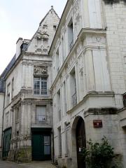Maison dite de la Chancellerie - Français:   Loches - Maison du Centaure et maison de la Chancellerie