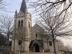 Eglise Saint-Mesmin - Français:   Eglise Saint-Mesmin restaurée