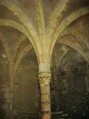 Château - Français:   Château de Meung-sur-Loire (Loiret, France), cellier gothique