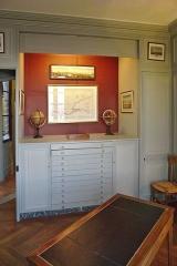 Immeuble (ancienne maison de l'Armateur, actuellement Musée de l'Armement naval) -  La Maison de l'armateur  au Havre: cabinet des cartes et plans.