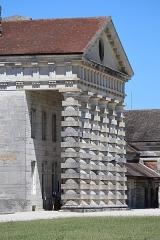 Ancienne saline royale, actuellement Fondation Claude-Nicolas Ledoux - Français:   Maison du directeur de la Saline Royale d\'Arc-et-Senans (39).