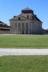 Ancienne saline royale, actuellement Fondation Claude-Nicolas Ledoux -  Maison du directeur de la Saline Royale d'Arc-et-Senans (39).