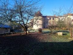 Tour Saint-Guillaume (ensemble) - Français:   Tour guillaume vue depuis les jardin de l\'ancien Hôtel Dieu