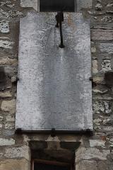 Eglise Notre-Dame - Français:   Transept sud de la basilique Notre-Dame de Gray (70). Cadran solaire.