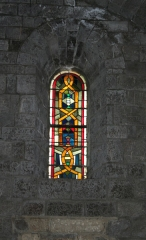 Eglise Saint-Paul - Français:   Frontignan (Hérault) - Église Saint-Paul - fenêtre sud 2.