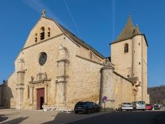 Eglise paroissiale Notre-Dame-de-la-Carce - English:  Our Lady church in Marvejols, Lozère, France