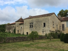 Abbaye des Dames - English:  The house of the Prior of Tusson (2), Tusson, Charente, France
