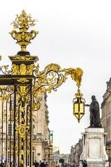 Ensemble formé par la place Stanislas, la rue Héré et la place de la Carrière -  This file has no description, and may be lacking other information.  Please provide a meaningful description of this file.