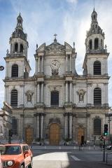 Cathédrale - Español:  Fachada de la Catedral de Nuestra Señora de la Anunciación de Nancy