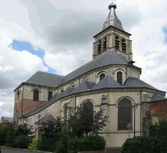 Eglise Saint-Martin -  Le Cateau - Chevet de l\' Abbatiale