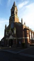 Eglise Saint-Martin d'Houplin -  Église Notre Dame de Lourdes Houplin-Ancoisne  Nord en Hauts-de-France. France