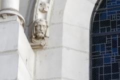 Eglise Saint-Nicolas -  Modillon de la basilique Saint-Nicolas. (Nantes, Loire-Atlantique, Pays de la Loire, France)