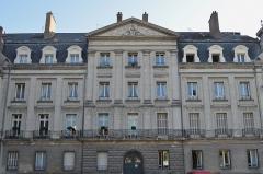 Hôtel Le Lasseur -  Hôtel (Lelasseur?) situé à droite de la Chapelle de l'Oratoire, Place de l'Oratoire - Nantes.