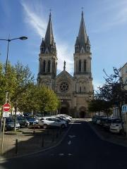 Ancienne église abbatiale Notre-Dame du Voeu - Русский:   Notre-Dame-du-Vœu, церковь в Шербург-Октевилле, Франция