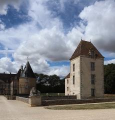 Château de Commarin -  Extérieur du château de Commarin (21).
