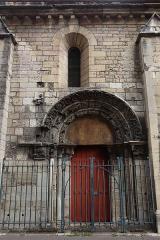 Eglise Saint-Philibert -  Extérieur de l'église Saint-Philibert de Dijon (21).
