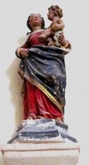 Eglise - Français:   Vierge à l\'enfant