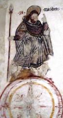 Eglise - Français:   Peinture murale
