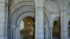 Abbaye Saint-Germain -  Entrée de la salle capitulaire, Abbaye Saint-Germain, Auxerre