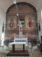 Eglise Saint-André - Français:   Joigny, Yonne, Bourgogne, France