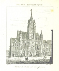 Hôtel de ville - Image taken from:  Title: \