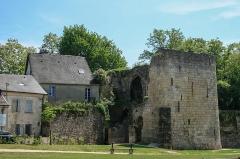 Porte de Soissons ou de Saint-Martin - English:  Gate of Soissons, inside, Laon