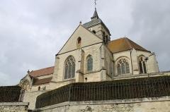 Eglise - Français:   L\'église Sainte-Radegonde.