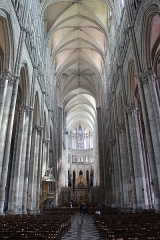 Cathédrale Notre-Dame -  Amiens (Somme - France), nef de la cathédrale Notre-Dame d'Amiens) (1220-1269).