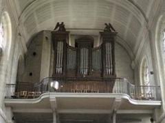 Eglise Saint-Acheul - Français:   Amiens, église Saint-Acheul, orgue de tribune