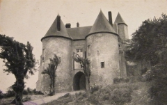 Château - Français:   Lucheux - Château