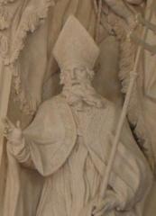Palais Saint-Pierre ou ancienne abbaye des Dames de Saint-Pierre -  Ennemond de Lyon. Sculpture du réfectoire du Palais Saint-Pierre de Lyon.