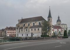 Eglise Saint-François - Français:   Saint Francis de Sales church in Annecy, Haute-Savoie, France