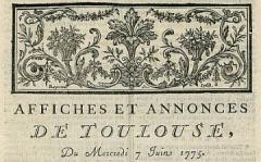 Bibliothèque municipale - Français:   Numéro de périodique d\'une collection de 1775-1789