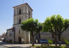 Eglise Saint-Cyriaque -  Church Saint-Cyriaque 12-13th century - Saint-Ciers-du-Taillon (D730) Région Nouvelle-Aquitaine. Foto Wolfgang Pehlemann