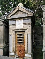 Entrée du cimetière de Terre-Cabade - English:   Terre-Cabade cemetery in Toulouse - Grave of Aristide Labéda. Professor of Medicine and former Mayor of Toulouse.