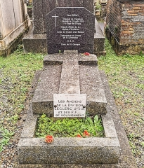 Entrée du cimetière de Terre-Cabade - English:   Terre-Cabade cemetery in Toulouse - Tomb of Jean Rémy