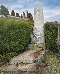 Entrée du cimetière de Terre-Cabade - English:   Terre-Cabade cemetery in Toulouse - Tomb of Théodore Ozenne