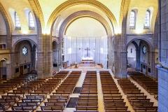 Ensemble paroissial Sainte-Thérèse -  Journées européennes du patrimoine 2020, église Sainte-Thérèse. (Nantes, Loire-Atlantique, Pays de la Loire, France)