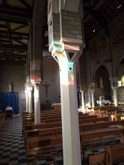 Eglise Saint-Martin dite Notre-Dame des Glaces - Français:   Vue intérieure.