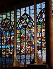 Eglise Sainte-Jeanne-d'Arc - Deutsch:   Buntglasfenster der Kirche St. Johanna von Orléans, Rouen, Département Seine-Maritime, Region Normandie (ehemals Ober-Normandie), Frankreich