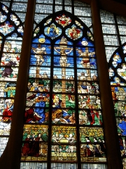 Eglise Sainte-Jeanne-d'Arc -   Vitraux de l\'église Sainte-Jeanne d\'Arc, Rouen, france  Stained glass