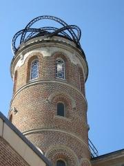 Maison Jules Verne - Français:   Tour et belvédère de la maison de Jules Verne à Amiens (2, rue Charles-Dubois)