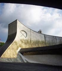 Bourse départementale du Travail - Français:   Bourse du travail dessinée par Oscar Niemeyer