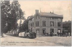 Ancienne abbaye de Clairvaux - Français:   Clairvaux (Aube) - L\'Hotel Saint-Bernard, A. Judy, proprietaire (R. Rale, phot. Bar-sur-Aube)