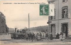 Ancienne abbaye de Clairvaux - Français:   Clairvaux - Hotel St Bernard le Tramway des Fours à Chaux