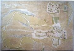 Enceinte - English:   Charleville-Mézières – Map of Charleville and Mézières.