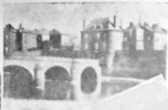Enceinte - Français:   sur une vue publiée en 1928