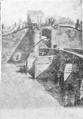 Remparts - Français:   sur une vue publiée en 1928