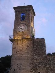 Tour du Suquet, chapelle Sainte-Anne et église Notre-Dame-de-l'Espérance -  Old castle in Cannes, France